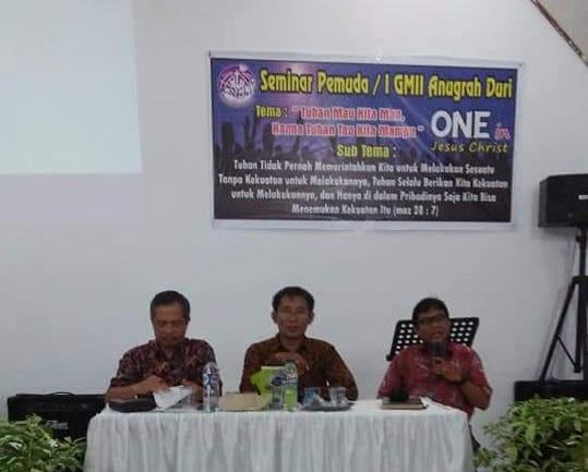 Seminar Pemuda GMII Anugerah Duri